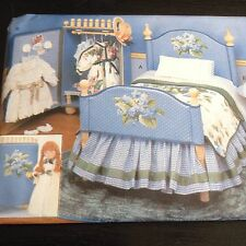 Vogue Craft 9352 Doll Collection Furniture Uncut Sewing Pattern Bed Dresser