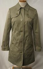 MARKS & SPENCER WATER REPELLENT JACKET SIZE 12 L/ KHAKI (WAS £65)BNWT REF:6460