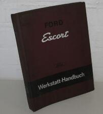 Werkstatthandbuch Ford Escort Knochen + GT Motor Bremsen Achsen Elektrik 1968!