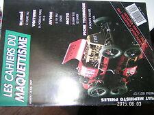 ¤¤ Cahiers du Maquettisme n°12 Stuart M3 Porsche Turbo 911 S F19 BMW R80 Rahier