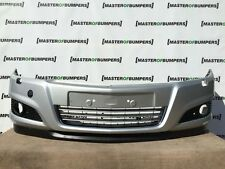 VAUXHALL ASTRA H 2004-2011 5 DOOR only FRONT BUMPER IN SILVER [Q27]
