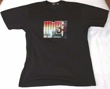 Mr. Disc Jockey LA Light Design t-shirt men sz XL black sound activated