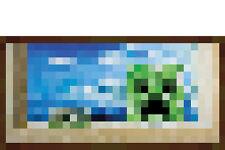 MINECRAFT WINDOW POSTER (61x30cm)  NEW WALL ART