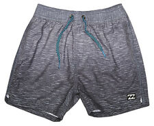 "NEW + TAG BILLABONG BOYS (1) ""SERGIO SLUB FADER"" BOARDSHORTS SHORTS ELASTICISED"