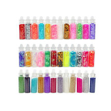 Winstonia 36 Nail Art Glitter Powder Dust Hexagon Diamond Caviar Decoration USA