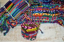 FRIENDSHIP BRACELETS Cotton Wholesale Bulk 25 Woven FAIR TRADE GIFTS UK Stock