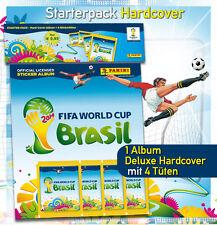 Panini WC WM brasil brasil 2014 – Hardcover deluxe album + 4 bolsas calidad