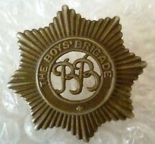 Badge- The Boy's Brigade Cap Badge, BB Badge - White metal