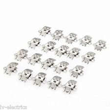 20 X Blank Stainless Steel Shoe Clips Clip on Findings for Wedding Craft New