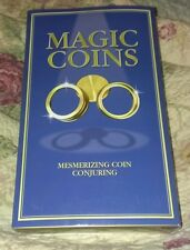 Magic Coins Mesmerizing Coin Conjuring by Nat Lambert Top That Book & Trick Set