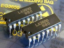 2x LA3600 5 band graphic equalizer, Sanyo