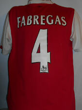 Arsenal Home Shirt ( 2006/2008* FABREGAS 4) medium men's #358
