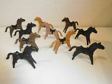 Playmobil 10 x Western Horse caballo old Type 3406 3408 3407 etc