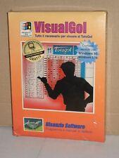 VisualGol - vincere al TotoGol | programma per Windows | Bisanzio Software 1995