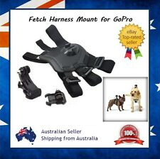 Fetch Dog Harness Mount for GoPro Hero 4 / 3+ / 3 / 2 With J-Hook & Clip Mount