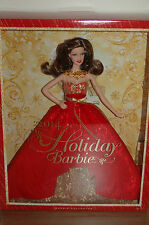2014 Exclusive BRUNETTE HOLIDAY Barbie - NEW