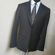 *DOLCE & GABBANA* *PEAKED LAPEL BLAZER 2 BUTTON CENTER VENT BROWN 42-43 REG MINT