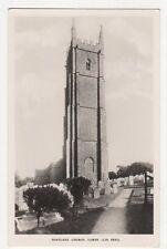 Hartland Church Tower RP Postcard  203a