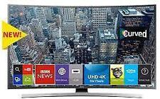 "SAMSUNG 55"" 55JU6600 LED SMART CURVE TV BRAND NEW 1 YEAR SELLER WARRANTY-"