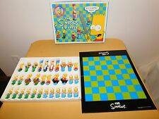 VINTAGE TOY TV CARTOON 1992 THE SIMPSONS 3-D CHESS GAME COMPLETE