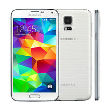 (Shimmery White) Samsung Galaxy S5 G900T 16GB 16MP 4G LTE Android Mobile Phone
