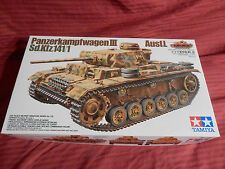 "1/35 Tamiya German Panzer III Ausf I Sd Kfz 141/1 # 215 ""1997"" OB F/S Bags"
