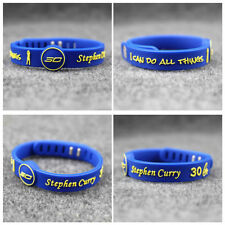 BRACELET NBA Wristband WARRIORS Golden State ENERGIE EQUILIBRE Stephen Curry