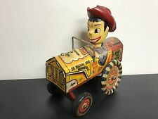 Milton Berle Crazy Tin Toy Car ~ Marx After Market Vintage Rebuild