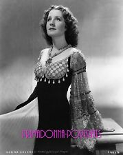 "NORMA SHEARER 8X10 Lab Photo 1930s Rare ""ROMEO AND JULIET"" Outfit Rarely Seen"