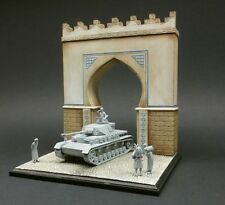 DioDump DD018 North African Gate + base ´Benghazi' 1:72 to 1:35 scale diorama