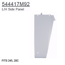 544417M92 Massey Ferguson Parts L/H Side Panel 245, 20C