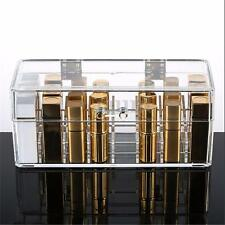Acrylic Clear 24 Lipstick Holder Display Stand Cosmetic Makeup Case Organizer