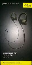 New Genuine Jabra STEP Wireless Bluetooth Stereo Sport Earbuds Headphone Headset