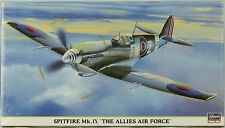 Hasegawa 1:48 Spitfire Mk.IX The Allies Air Force Plastic Model Kit #09630