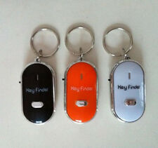 100% Brand New  Whistle Lost Car Key Finder  Keyrings Locater with LED Light EW