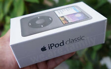 Apple iPod Classic 7th Gen 160GB Black MP3/MP4 Latest (Original Packaging) A1238