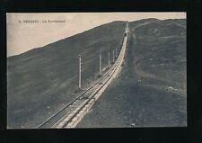 Italy VESUVIO Vesuvius La Funicolare Railway c1900/20s? PPC