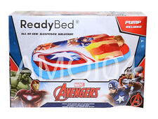 Marvel Avengers Ready Bed Boys Kids Sleeping Bag with Air Mattress *New
