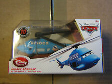 DISNEY PIXAR CARS 10TH ANNIVERSARY DINOCO HELICOPTER  DISNEY STORE EXCLUSIVE