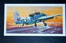Grumman Avenger   US Navy Torpedo Bomber      Illustrated  Card # VGC