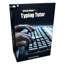 Touch Typing Tutor Software - Learn to Type Course CD