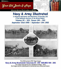 Navy & Army Illustrated Volumes XI - XIV Issues 190 to 243 1900 - 1902 PDF DVD