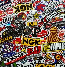 100 Mixed Random Stickers Motocross Motorcycle Car ATV Racing Bike Helmet Decal