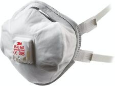 20 x 3M 8835 FFP3D Valved Premium Dust Masks / Respirators