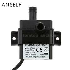 New Magnetic DC 12V Electric Brushless Centrifugal Water Pump 4.5M Fountain P7O0