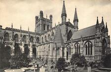 "Vintage B&W Postcard CHESTER Cathedral Cheshire ""The Cestrian Series"""