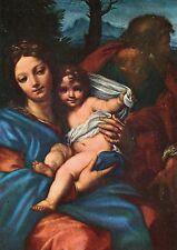 Alte Kunstpostkarte - Carlo Maratta - Die heilige Familie