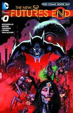 NEW 52 FUTURES END #0 FREE COMIC BOOK DAY DC COMICS FIRST PRINT