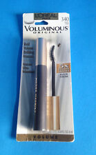 2X LOreal VoluminousOriginal Curved Brush Bold Volume Building Mascara 340 Black