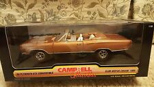 Ertl 1969 Plymouth Hemi Gtx 1:18 Diecast Car, Campbell Collectibles, MOPAR, NIB